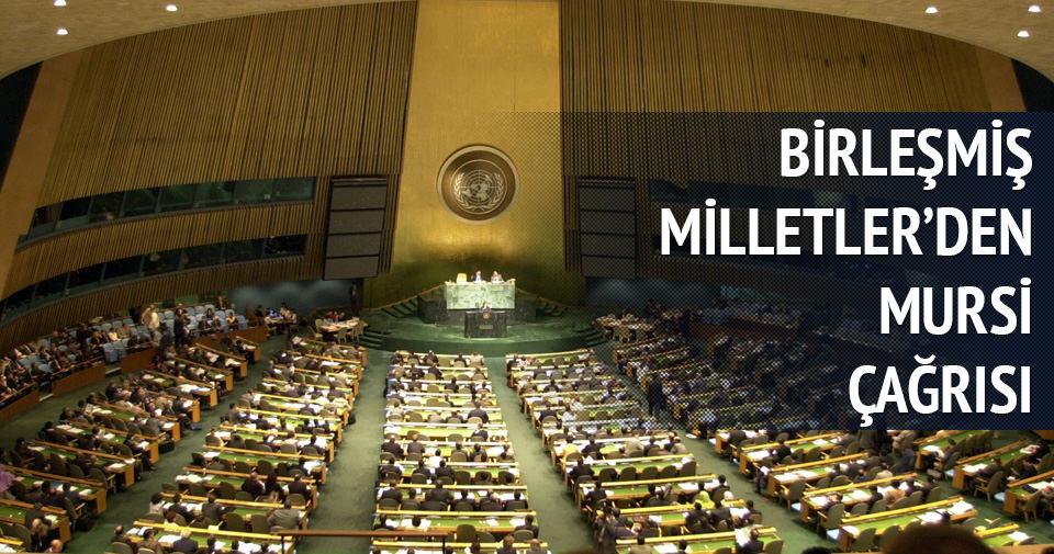 BM'DEN FLAŞ MURSİ AÇIKLAMASI