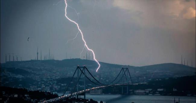 İstanbul'da yaz yağmuru
