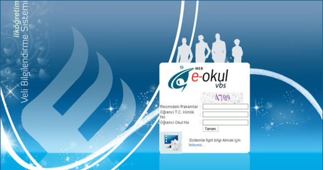 E-Okul Veli Bilgilendirme Sistemi - Karne bilgisi öğren