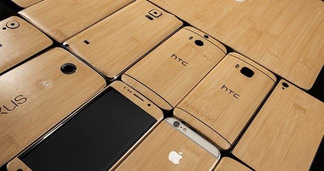 Son model akıllı telefonlar artık bambu kaplamalı