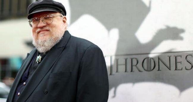 Game of Thrones'un yazarı dert yandı