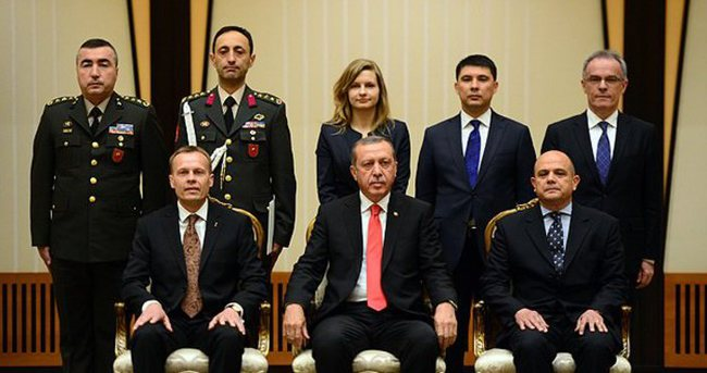 Üç büyükelçi Erdoğan'a güven mektubu sundu