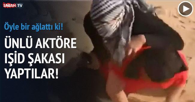 IŞİD şakası aktörü öyle bir ağlattı ki!