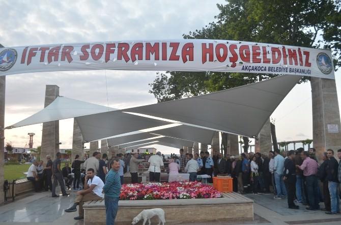 Akçakoca'da İftar Çadırı 10 Farklı Adreste Kurulacak