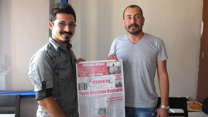Burhaniye'de Körfezde Önder Gazetesi Yayın Hayatına Başladı
