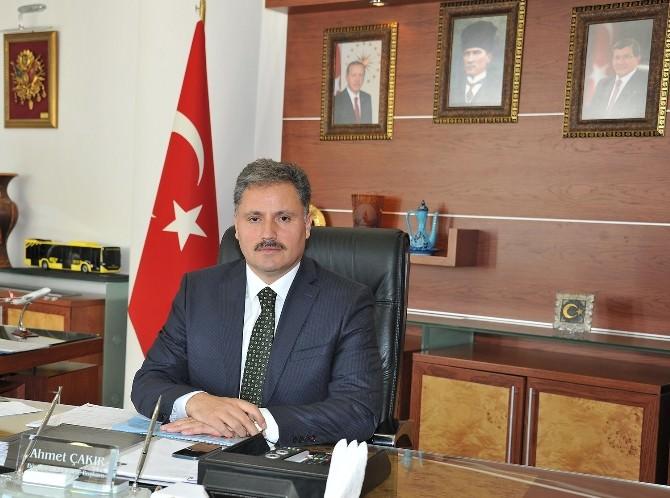 Belediye Başkanı Ahmet Çakır'ın Ramazan Ayı Mesajı