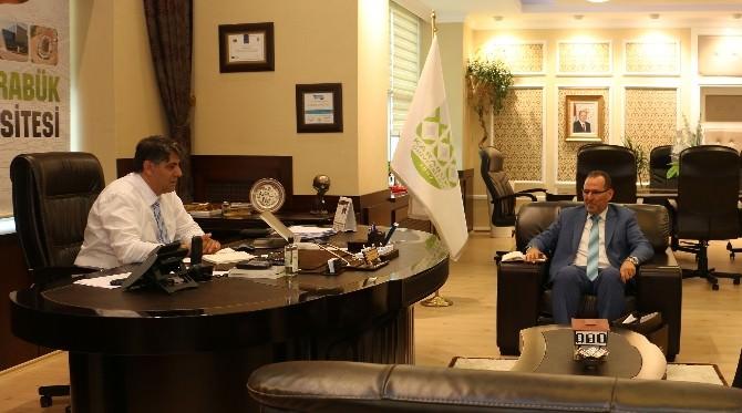 Libya Büyükelçiliği Akademi Ataşeliğinden Rektör Polat'a Ziyaret