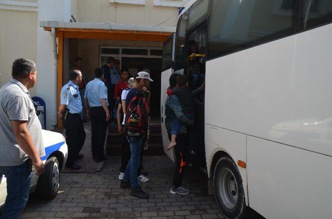 Gelibolu'da 83 Kaçak Yakalandı