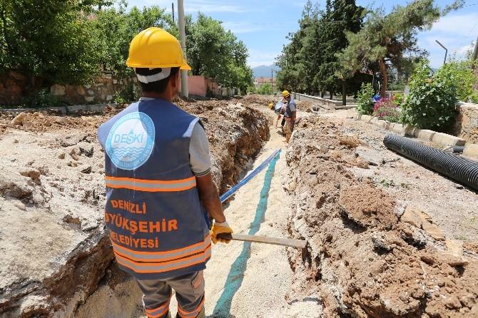 Akkent'in İçme Suyu Hattı Değişti