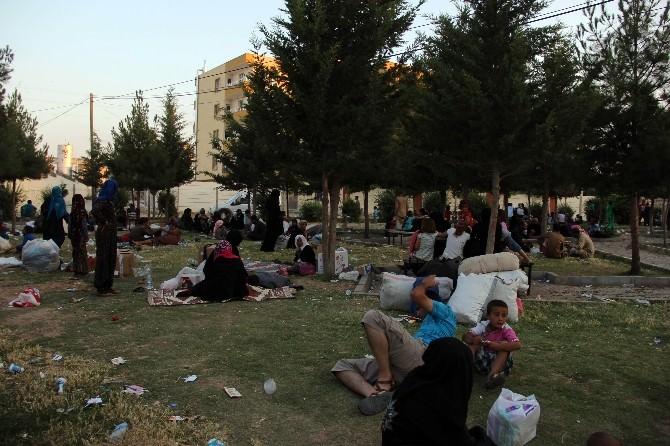 Akçakale'de Suriyeli Patlaması