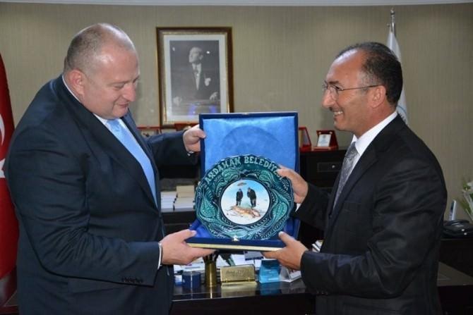 Gürcistan Heyetinden Başkan Köksoy'a Ziyaret
