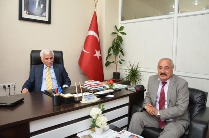 Vali Orhan Alimoğlu Tüed Karabük Şubesini Ziyaret Etti