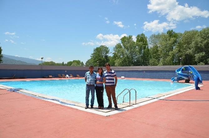 Kargı'da Havuz Sezonu Açıldı