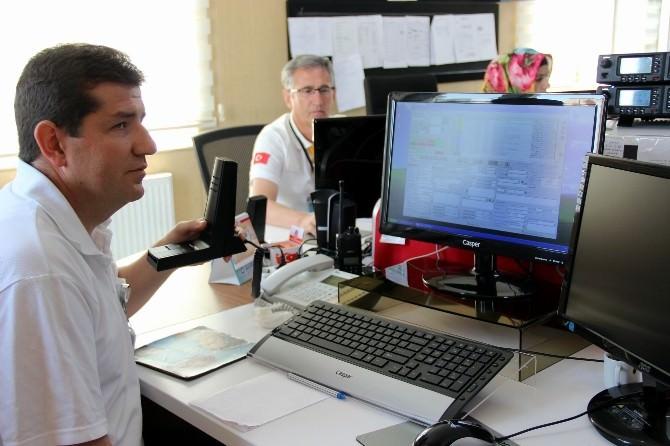Kayseri 112 Sağlık Ekipleri Dijital Telsiz Sistemine Geçti