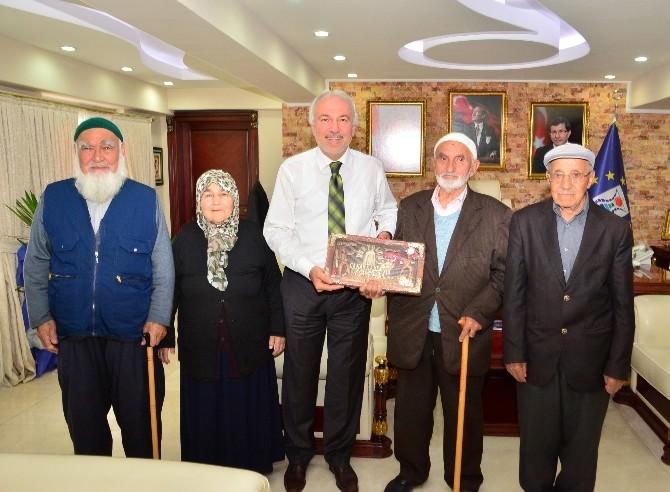 Başkan Saraçoğlu'nu Duygulandıran Ziyaret