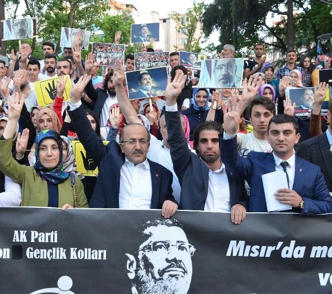 Mursi'ye İdam Kararı Trabzon'da Protesto Edildi