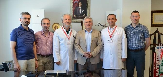Samsun Tabip Odası'ndan Medical Park'a Ziyaret