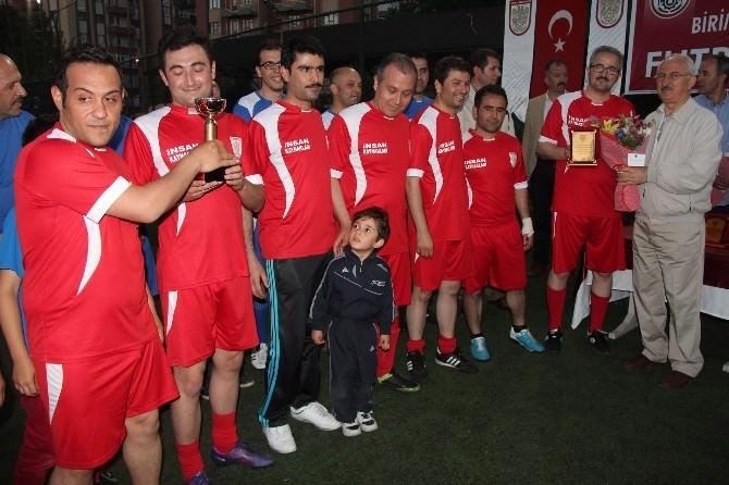 Birimler Arası Sağlık Yaşam Futbol Turnuvası Sona Erdi