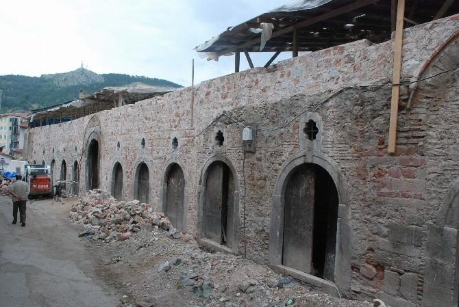 Yazmacılar Hanı 129 Yıl Sonra Restore Ediliyor