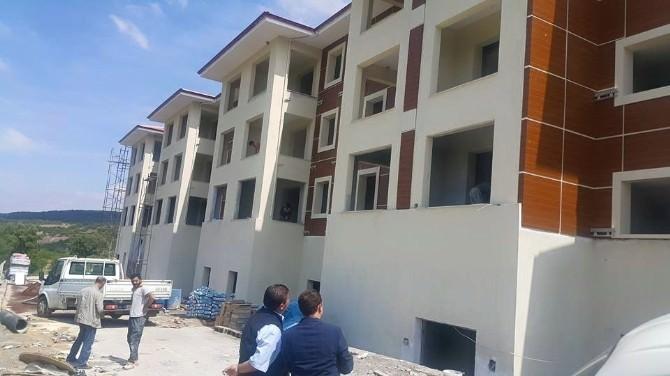 Uşak Kayaağıl Termal'de Yeni Binalarda Sona Yaklaşıldı