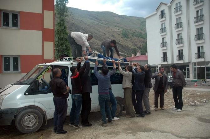 Çatak'ta Menşure Deresine Düşen Kadının Cesedine Bir Hafta Sonra Ulaşıldı