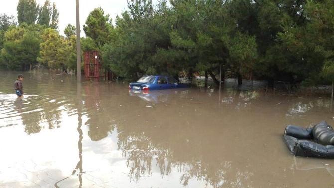 Balıkesir'de Sel Felaketi Saniye Saniye Görüntülendi...