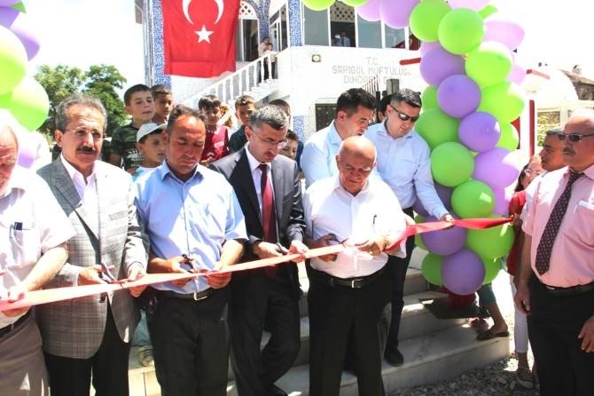 Mahalle Halkı Ve Hayırseverlerin Yaptırdığı Cami Açıldı