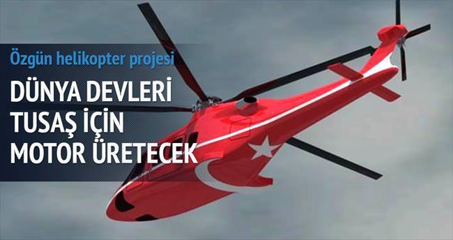 Dünya devleri TUSAŞ için helikopter motoru üretecek