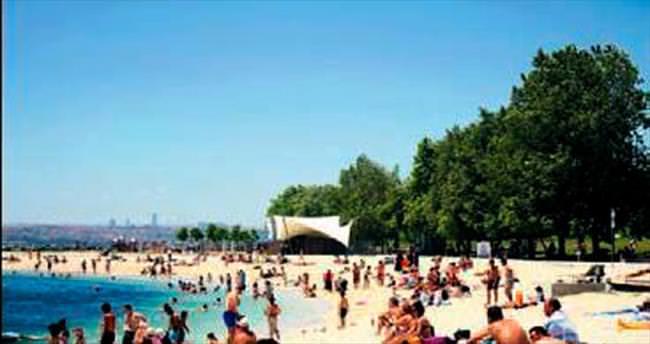 İstanbul'daki 83 plajın hepsi temiz