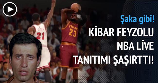 Kibar Feyzolu NBA live 2016 tanıtımı