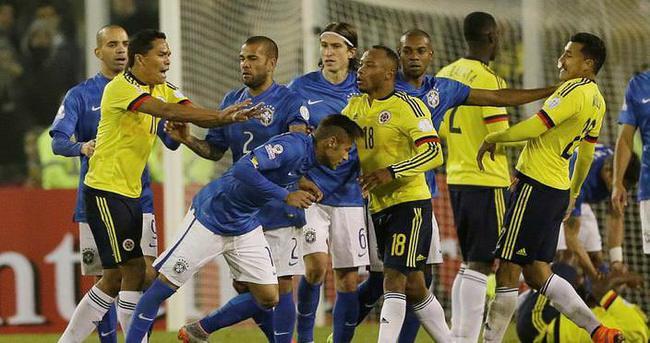 Copa America'da Brezilya'ya Kolombiya darbesi