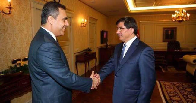 Davutoğlu MİT Müsteşarı Fidan'ı kabul etti