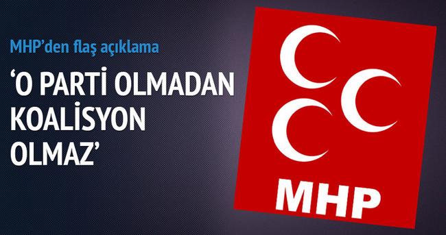 MHP: AK Parti'siz hükümet olmaz