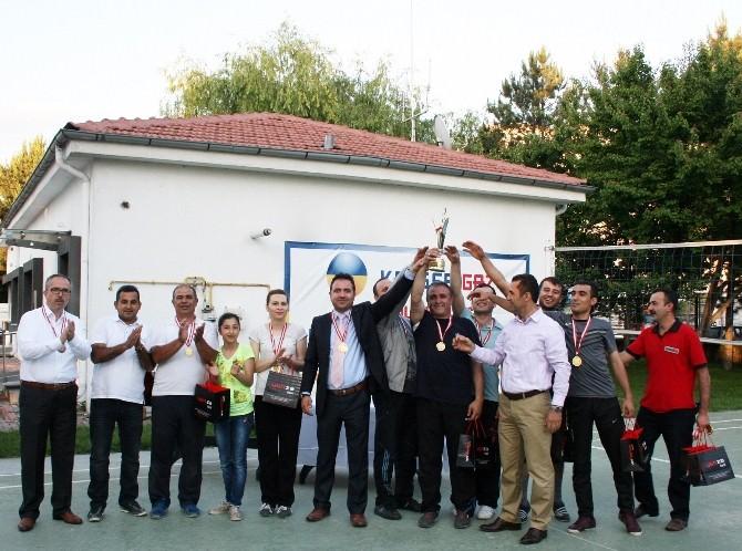 Kayserigaz 8.voleybol Turnuvasının Galibi Dostluk Oldu!