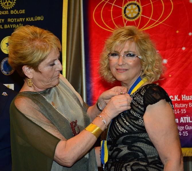 Güney Rotary'de Devir Teslim