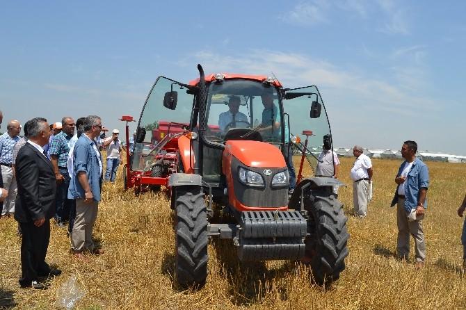 Anız Yakımını Engelleyecek Tarım Makinesi Tanıtıldı