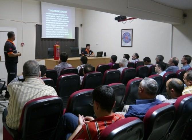 Aydın'da Temel Afet Bilinci Eğitimleri Devam Ediyor