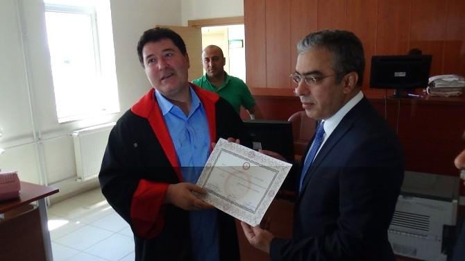 AK Parti Kars Milletvekili Uçum Mazbatasını Aldı
