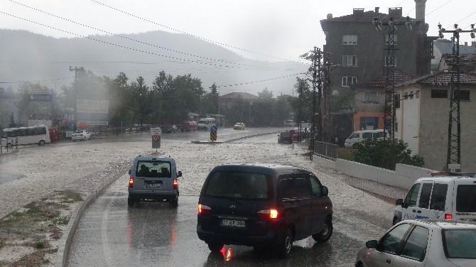 Bilecik'te Şiddetli Yağışlar