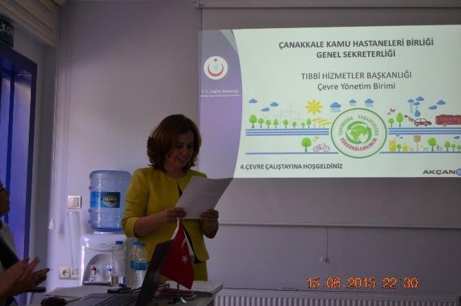 Kamu Hastaneleri Birliği Çevre Çalıştayı Yapıldı