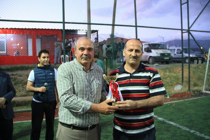 Erzincan Belediyesi Halı Saha Futbol Turnuvası Sona Erdi