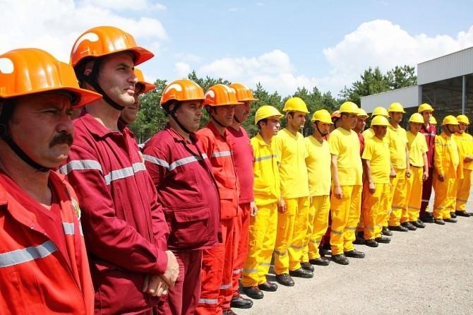 Orman Bölge Ekiplerine Yangın Eğitimi