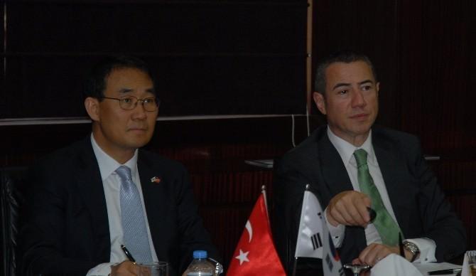 Kore Büyükelçisi Bartık'ı Ziyaret Etti