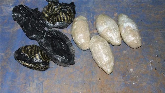 Gaziantep'te 1 Kilogram Eroin Ele Geçirildi