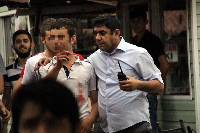 Samsun'da 1 Kişi Bıçakla Yaralandı