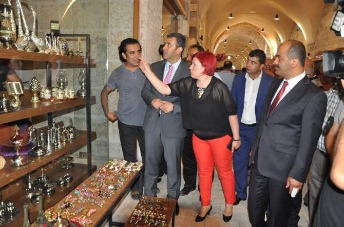 Tarihi Külliyedeki Kapalı Çarşı Törenle Açıldı