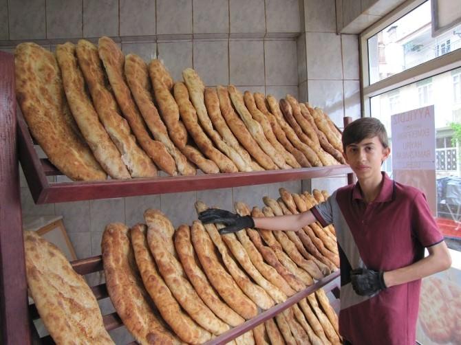 Hisarcık'ta İki Tip Ramazan Pidesi