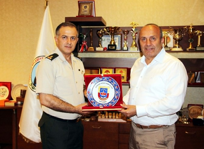 Tuğgeneral Bal'dan Arslan'ı Ziyaret