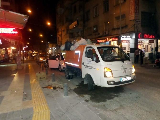 Kilis'te Temizlik Seferberliğine Ramazan Da Devam Ediyor
