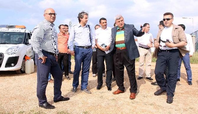 Başkan Karaosmanoğlu, Deniz Temizleme Aracını İnceledi